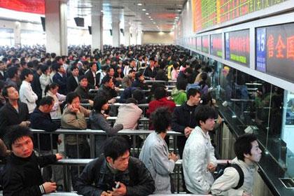 春节假期火车票开售 今天可买大年初一车票