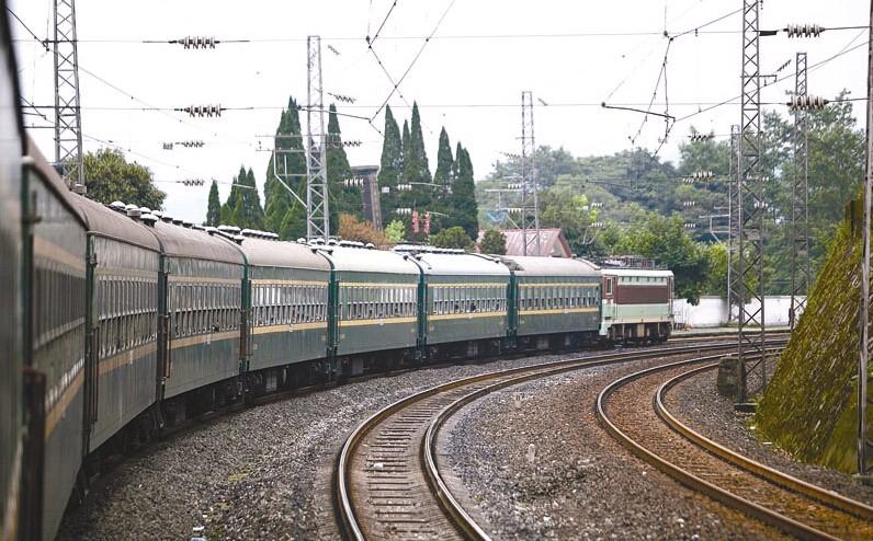 5619列车,远去