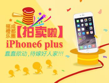 【拍卖啦】iPhone6 plus蠢蠢欲动,待嫁好人家!