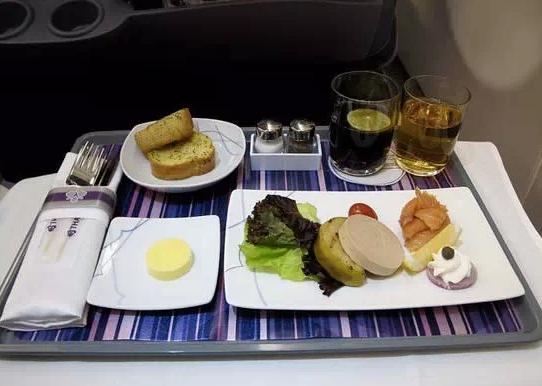 最美味的经济舱飞机餐