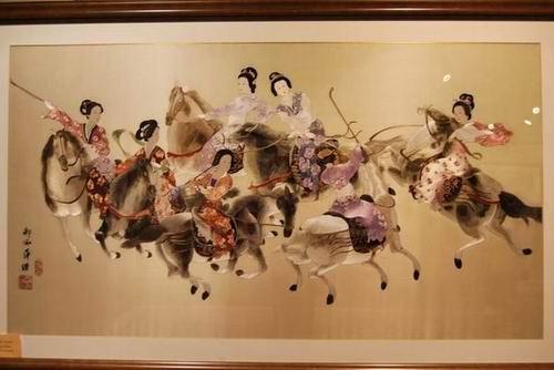 蜀绣的历史渊源 您知道多少?图片