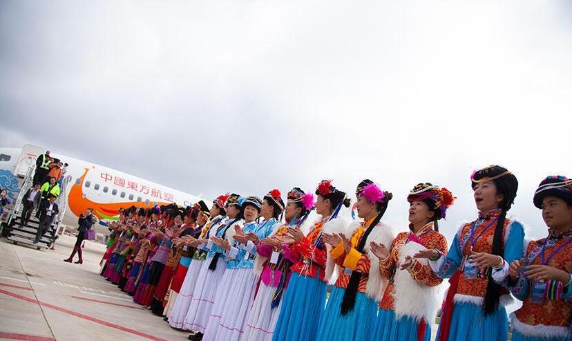 泸沽湖机场正式通航运营