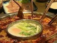 土鸡黄喉火锅