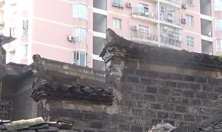 古代木房屋顶结构图