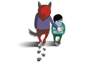 人贩拐走10岁小孩(图据法制晚报)-人贩朋友圈内被 通缉 主动送回被