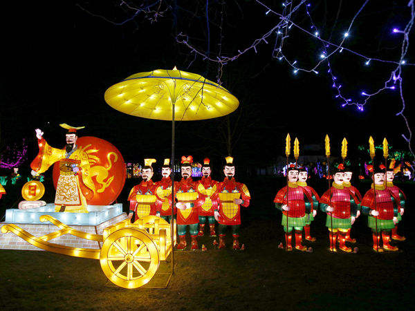 灯会办到国外 伦敦举行中国彩灯节