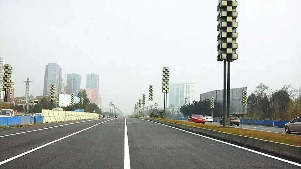 北星大道新都段整治工程完成 实现全幅通车高清图片