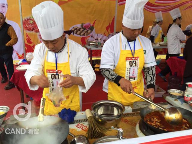 厨艺大赛_[崇州]美食厨艺大赛拼创意 开水煮白菜也能上?