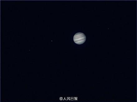 察木星的彩色条纹