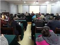 肖家河街道召开党的群众路线教育实践活动专题培训会