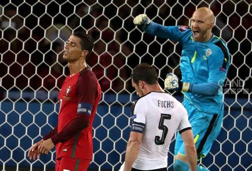 葡萄牙0:0奥地利比赛画面