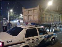 交警专项整治运渣车交通违法 一晚查处259起