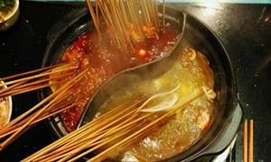 辣风彩鲜牛肉串串