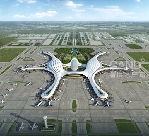 """成都天府国际机场效果图 成都天府国际机场是国家""""十三五""""规划确定的重点工程,对于满足成都及周边地区航空运输增长需求、完善综合交通运输体系、促进区域经济社会协调发展、增加我国民航竞争力、服务全国对外开放,具有十分重要的意义。2015年1月,国务院、中央军委印发了《关于同意建设成都新机场的批复》(国函〔2015〕2号),同意建设成都新机场。 成都市广播电视台记者 王实 编辑:高榕"""
