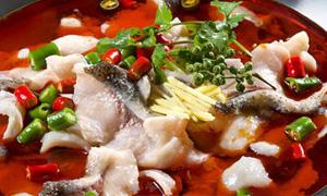 美味河鲜鱼自助火锅