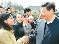 习近平:把人民放在心中最高位置
