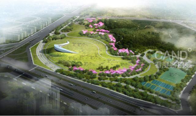 成都露天音乐广场明年亮相 选址凤凰山公园高清图片