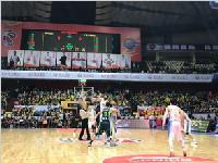CBA季后赛首轮开打 四川男篮以91:111负于广东队