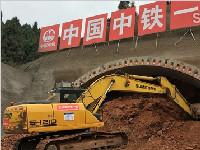 成都新机场高速龙泉山隧道开建 双向4洞10车道