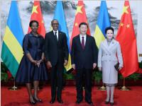 习近平同卢旺达总统卡加梅举行会谈