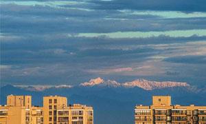 成都 许你一个看得见雪山的阳台