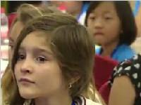 国际童声合唱团来成都 感受天府文化魅力
