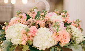 加油喜事之《婚礼中的鲜花》