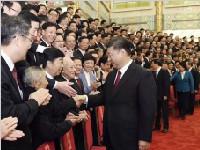 他们代表成都接受总书记会见 这是全成都的荣誉