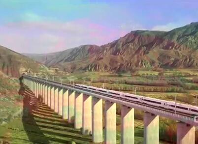 西成高铁开通 成都融入全国高铁网