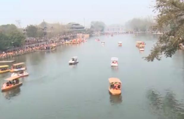 洛带古镇待客11.5万人次 全省迎来春节假日旅游小高峰