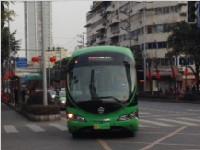 只充电零排放 绿色迷你公交亮相成都街头