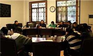 彭州市教育局教研室地理学科教研员一行到彭州中学进行集体视导