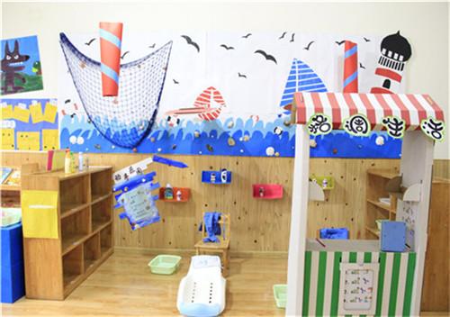 实小附幼开展班级环境创设评比活动 丰富幼儿园区域活动内容