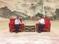 罗强会见中国银河金融控股有限责任公司、北京大学企业家俱乐部客人