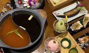 荻山里日式自助火锅