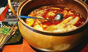 沸石铜锅鱼