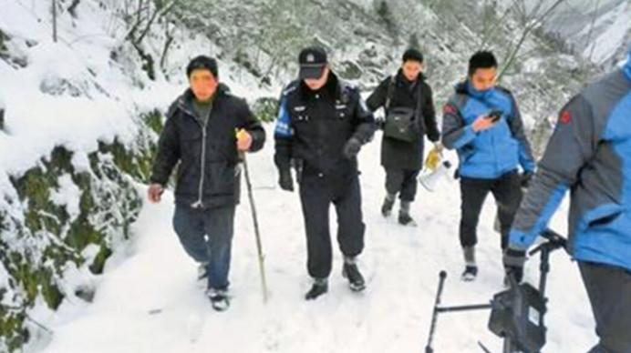 就为逃40元门票!男子被困-10℃雪山 警民搜救12小时