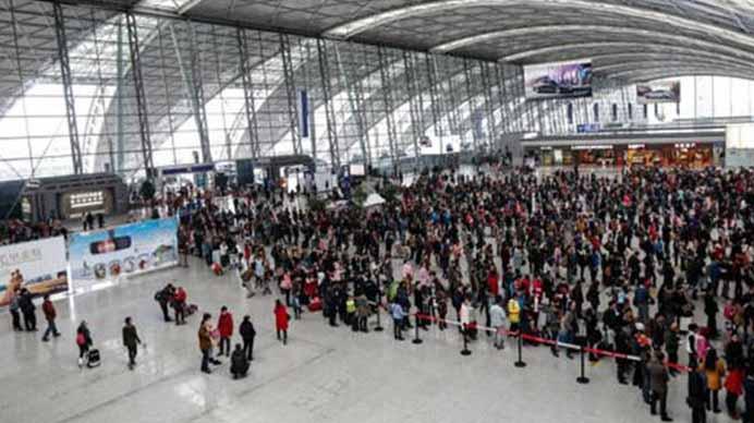 春运首周川渝黔603万人次铁路出行 本周成都将迎返乡高峰