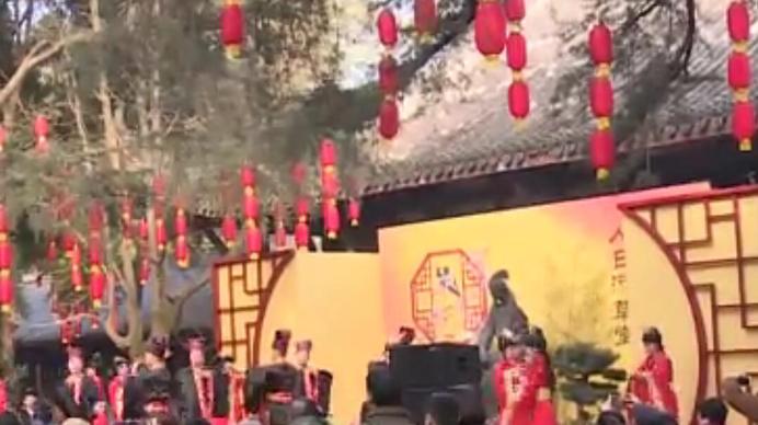 诗传千古情 花重锦官城!第十届成都诗圣文化节开幕