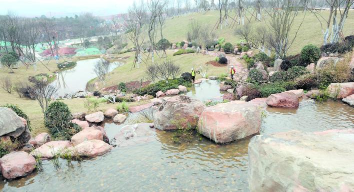 """打造""""城市之肺""""  杨溪湖湿地公园年底呈现"""