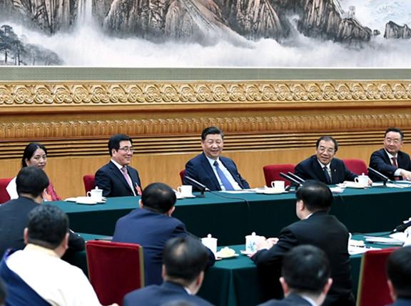 五分PK10参加甘肃代表团审议