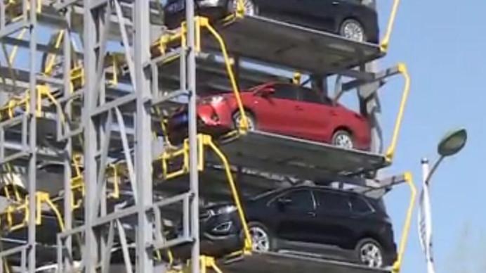 彭州网红停车场 为何不一般?