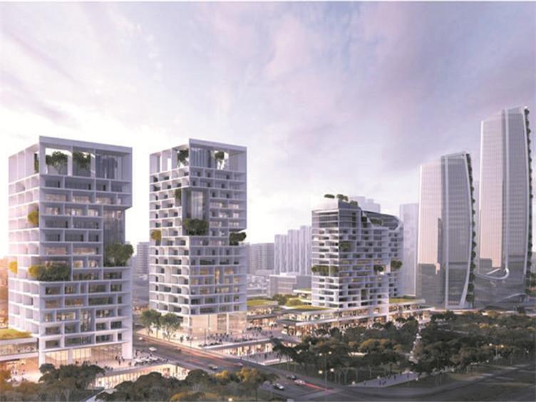 成都紫光芯城项目正式开工建设