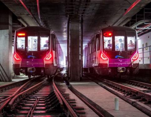 成都地铁5号线喜迎双节点 开通运营又近一大步