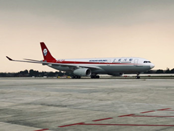 """熊猫涂装A350与""""双流壹号""""A330加盟川航"""