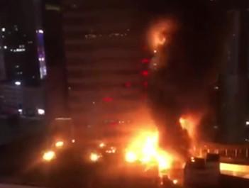 南京金鹰商贸集团就火灾发致歉声明