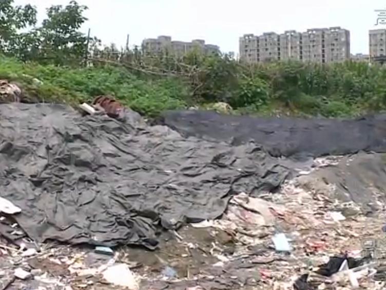 """隐藏在高楼背后的""""垃圾山"""":居民诉求何时解决?"""