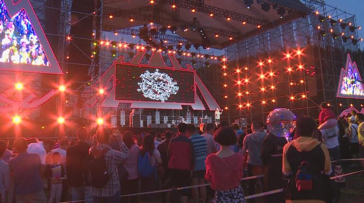武隆仙女山音乐节万人狂欢夜