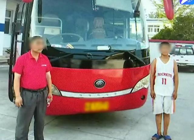 安徽寿县:14岁孩子竟驾驶大客车 交警部门介入调查