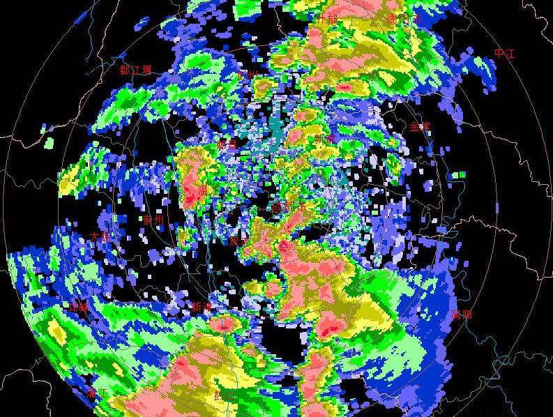 成都又雙叒叕下暴雨了!請注意這些交通變化